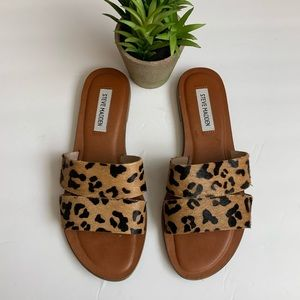Steve Madden Cheetah Sandals 8